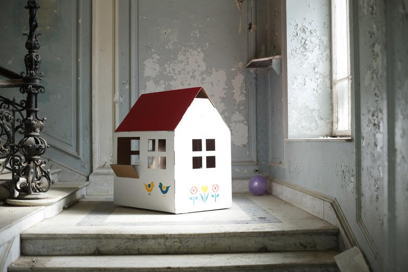 Casa de cart n ni os que molan - Casas para ninos de carton ...
