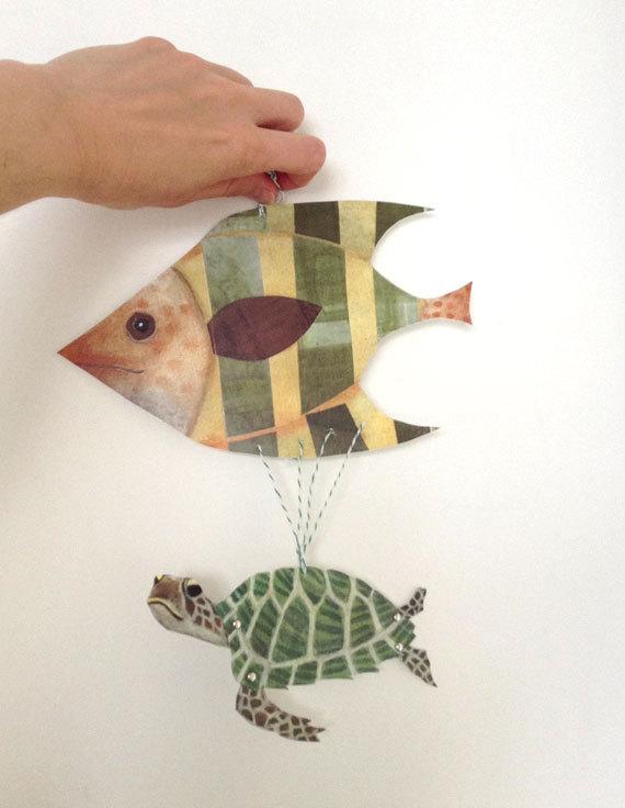 marioneta-articulada-imprimir-tortuga-pez